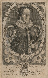 Queen Mary I, by Francis Delaram - NPG D17820