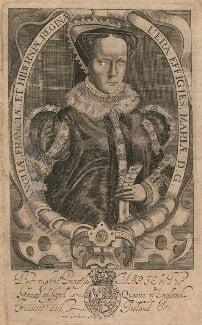 Queen Mary I, by Francis Delaram - NPG D17820