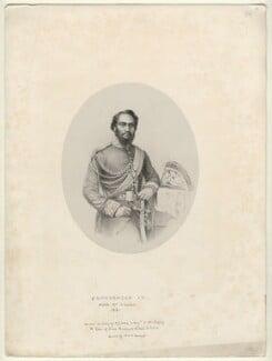 Kamehameha IV, King of Hawaii, by Richard James Lane, printed by  M & N Hanhart - NPG D22063