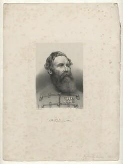 Sir Harry Burnett Lumsden, by Richard James Lane, printed by  M & N Hanhart - NPG D22067