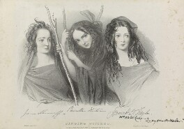 'The singing witches', by Richard James Lane, printed by  Jérémie Graf, published by  John Mitchell - NPG D22071