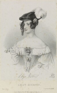 Madame Vestris as Lucy Morton in 'Court Favors', by Richard James Lane, printed by  Jérémie Graf, published by  John Mitchell, after  Alfred Edward Chalon - NPG D22079