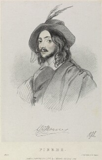 Pierre in 'Amilie', by Richard James Lane, by  Alfred Edward Chalon, printed by  Jérémie Graf, published by  John Mitchell - NPG D22086