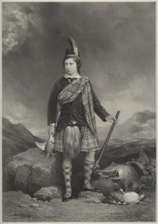 King Edward VII, by Richard James Lane, and by  James Henry Lynch - NPG D22128