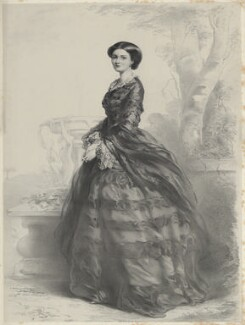 Princess Marie of Baden, Duchess of Hamilton, by Richard James Lane, after  Richard Buckner - NPG D22133