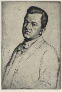 Sir Charles Holroyd, by William Strang, 1909 - NPG D17831 - © National Portrait Gallery, London