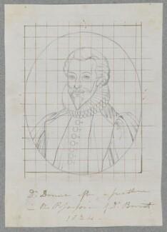 John Donne, by Henry Bone, after  Unknown artist, 1824 - NPG D17161 - © National Portrait Gallery, London