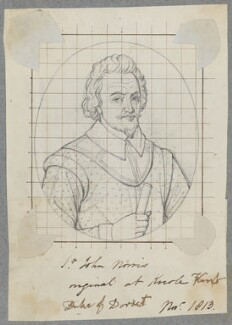 Sir John Norris (Norreys), by Henry Bone, after  Unknown artist - NPG D17165