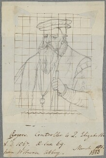 Sir Edward Rogers, by Henry Bone, after  Unknown artist - NPG D17169