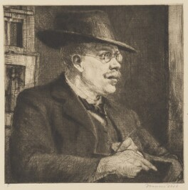 Francis Dodd, by Francis Dodd - NPG D17835