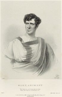 Charles Kemble as Mark Anthony in 'Julius Caesar', by Richard James Lane, printed by  M & N Hanhart, published by  Colnaghi and Puckle, after  Alfred Edward Chalon - NPG D22328