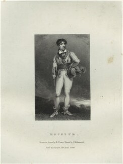 John Philip Kemble as Hotspur, by Richard James Lane, printed by  Charles Joseph Hullmandel, published by  Joseph Dickinson, after  John Boaden - NPG D22317