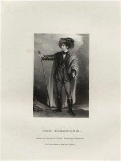 John Philip Kemble as The Stranger, by Richard James Lane, printed by  Charles Joseph Hullmandel, published by  Joseph Dickinson, after  John Boaden - NPG D22318