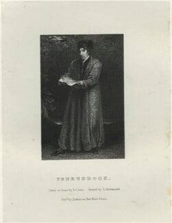 John Philip Kemble as Penruddock, by Richard James Lane, printed by  Charles Joseph Hullmandel, published by  Joseph Dickinson, after  John Boaden, published 1 October 1826 - NPG  - © National Portrait Gallery, London