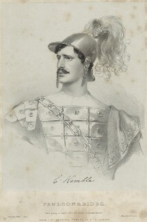 Charles Kemble as Faulconbridge in 'King John', by Richard James Lane, printed by  Jérémie Graf, published by  Colnaghi and Puckle - NPG D22323