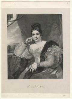 Maria Louise Dulcken, by Richard James Lane - NPG D22142