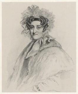 Baroness Raygersfeld, by Richard James Lane - NPG D22152