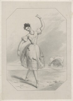Pauline Duvernay (Yolande Marie Louise de Varnay), by Richard James Lane, after  John Rogers Herbert - NPG D22158