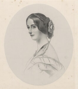Mary Caroline (née Herbert), Marchioness of Ailesbury, by Richard James Lane, 1849 - NPG D22166 - © National Portrait Gallery, London