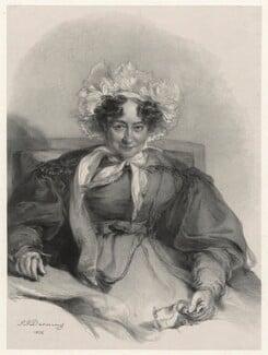 Sabrina Bicknell (formerly Sidney), by Richard James Lane, after  Stephen Poyntz Denning - NPG D22174