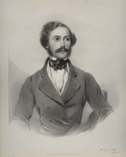 Frank Bostock, by Richard James Lane, printed by  M & N Hanhart, after  George Richmond - NPG D22176
