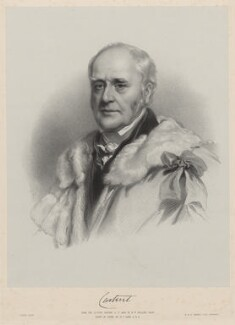 John Thynne, 3rd Baron Carteret of Hawnes, by Richard James Lane, printed by  M & N Hanhart, after  Henry Wyndham Phillips - NPG D22185
