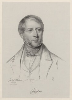 John Frederick Campbell, 1st Earl Cawdor, by Richard James Lane, after  James Rannie Swinton - NPG D22186