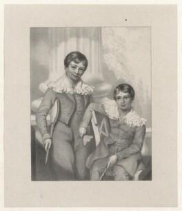 'Young Clacks', by Richard James Lane, after  Richard Augustus Clack - NPG D22187