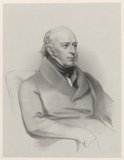 Sir Edward Codrington, by Richard James Lane, after  Henry Perronet Briggs - NPG D22191