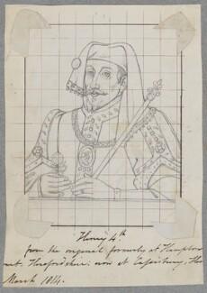 King Henry IV, by Henry Bone, after  Unknown artist - NPG D17179