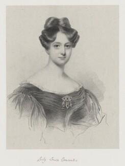Lady Louisa Cornwallis, by Richard James Lane, after  Sir William John Newton - NPG D22196