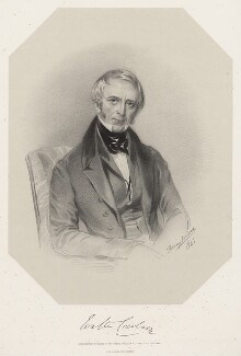 Walter Coulson, by Richard James Lane, printed by  M & N Hanhart, after  Marie Françoise Catherine Doetter ('Fanny') Corbaux - NPG D22198