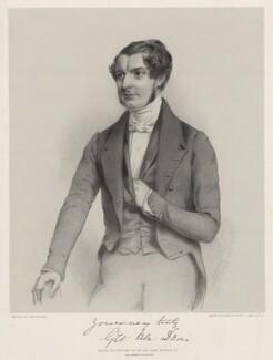 George Henry Davis, by Richard James Lane, printed by  M & N Hanhart, published by  John Lavars, after  John Watkins - NPG D22202