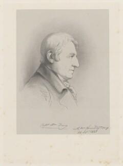 Captain William Davy, by Richard James Lane, after  Sir Francis Leggatt Chantrey - NPG D22203