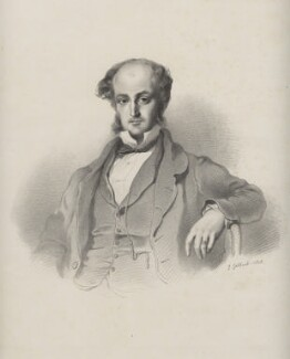 Arthur Willis Blundell Sandys Trumbull Windsor Hill, 4th Marquess of Downshire, by Richard James Lane, after  Josiah Gilbert - NPG D22205