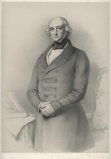Sir James Weir Hogg, 1st Bt, by Richard James Lane, after  Eden Upton Eddis - NPG D22234