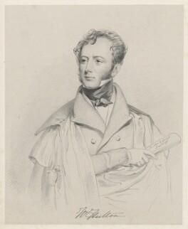 William Hulton, by Richard James Lane, after  Joseph Slater - NPG D22237