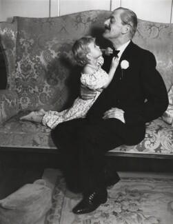 Josephine Robertson; Archie Campbell, by Norman Parkinson - NPG x30121