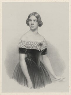 Jenny Lind, by Richard James Lane, after  Conrad L'Allemand - NPG D22246