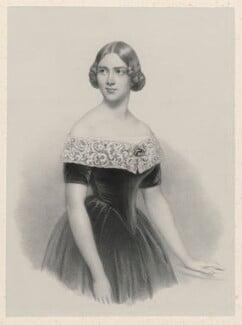Jenny Lind, by Richard James Lane, after  Conrad L'Allemand, published 1847 - NPG D22246 - © National Portrait Gallery, London