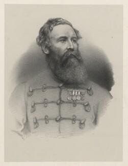 Sir Harry Burnett Lumsden, by Richard James Lane, printed by  M & N Hanhart - NPG D22251