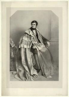 John Singleton Copley, Baron Lyndhurst, by Richard James Lane, after  Alfred Edward Chalon - NPG D22252
