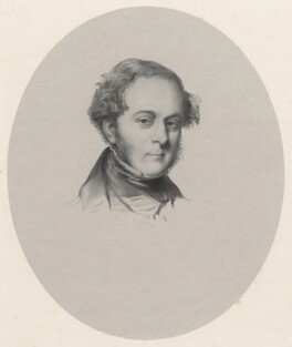 Edmund Parker, 2nd Earl of Morley, by Richard James Lane, after  Field Talfourd - NPG D22259