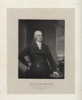 Jacob Perkins, by Richard James Lane, printed by  Charles Joseph Hullmandel, published by  J. Miller, after  Chester Harding - NPG D22265