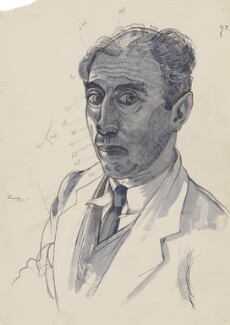 John Nash, by John Nash - NPG 6685