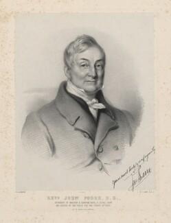 John Poore, by Richard James Lane, printed by  M & N Hanhart, after  W. Alsworth - NPG D22266