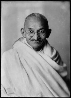 Mahatma Gandhi, by Elliott & Fry, 1931 - NPG x82218 - © National Portrait Gallery, London