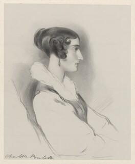 Charlotte Fanny (née Portman), Countess Poulett, by Richard James Lane - NPG D22269