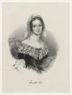 Florentia (née Wynch), Lady Sale, by Richard James Lane, after  Maria A. Chalon - NPG D22275