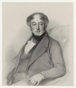 Joshua Stanger, by Richard James Lane, after  Samuel Laurence - NPG D22283